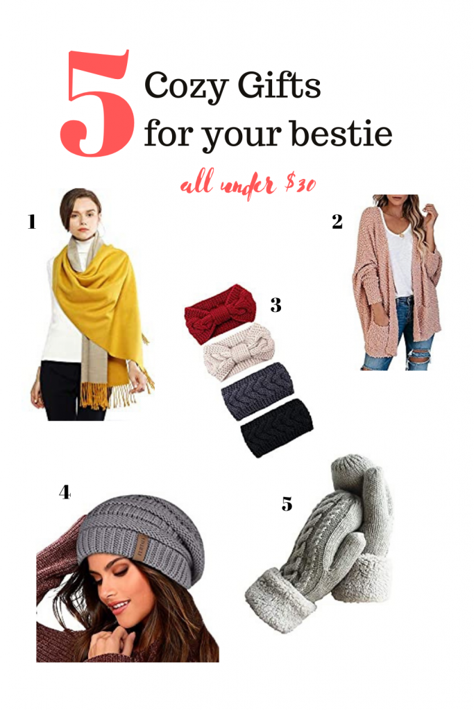 Cozy Gifts for your bestie