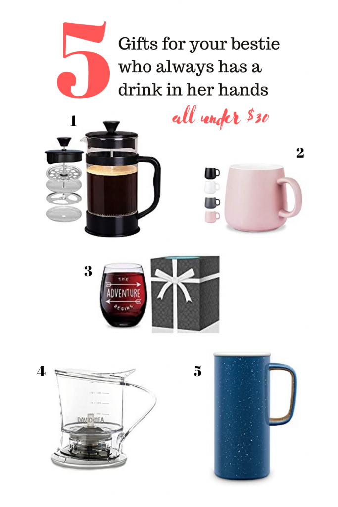 Gifts for your bestie whose always drinking something