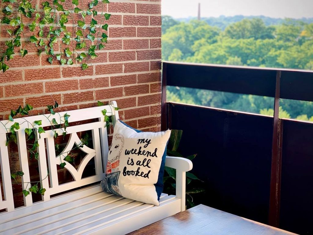 Change your boring balcony into a Pinterest worthy space