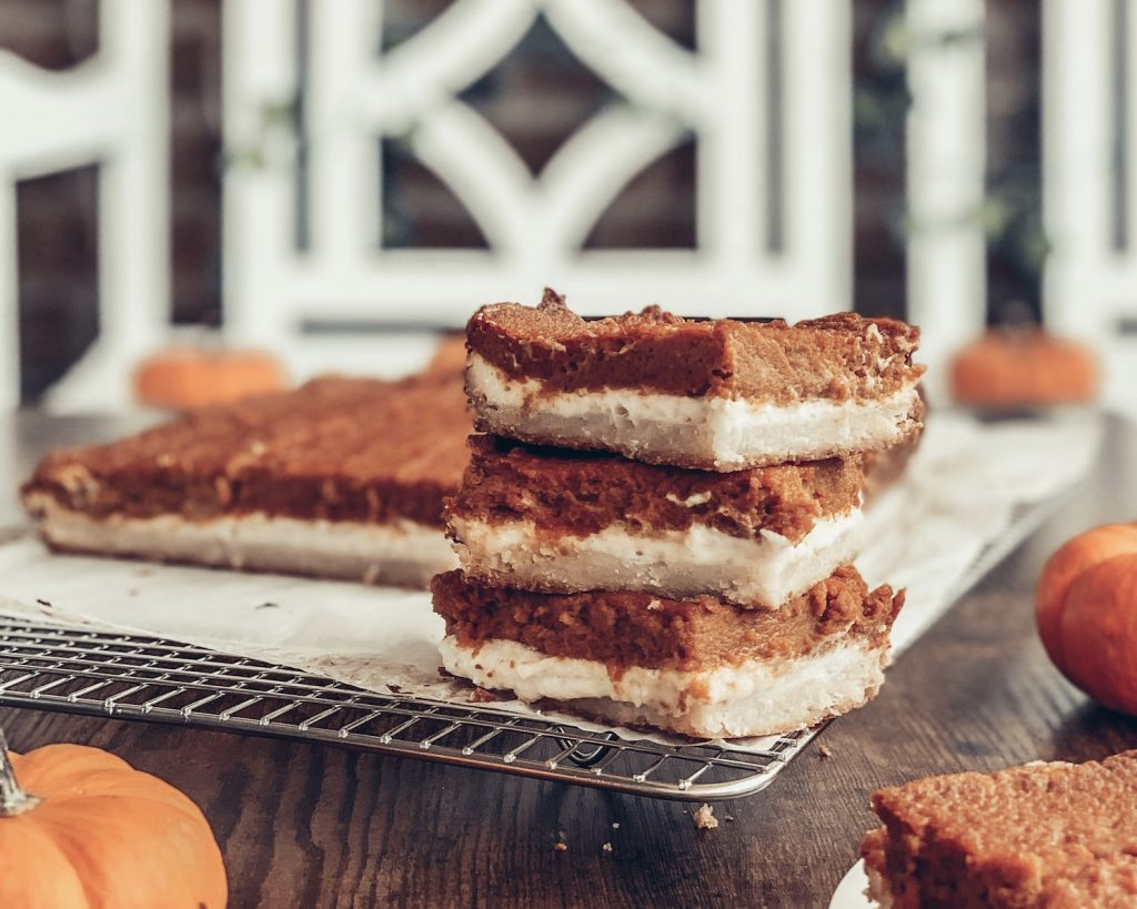 Pumpkin Pie Cheesecake Bars Recipe