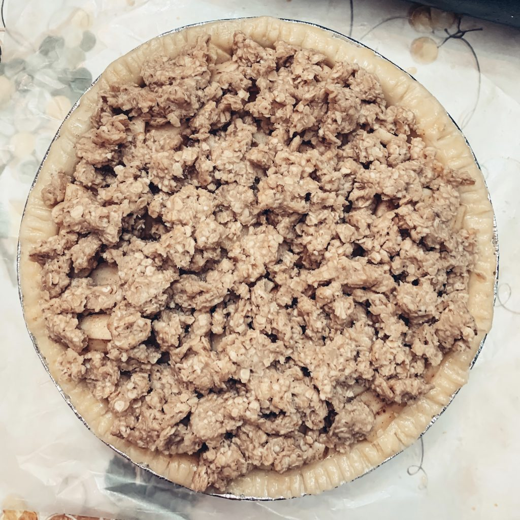 Apple Pie Ready for the Oven