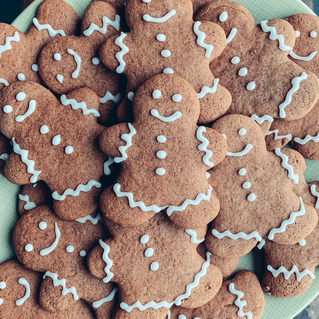 Soft Gingerbread Cookies Recipe for Christmas