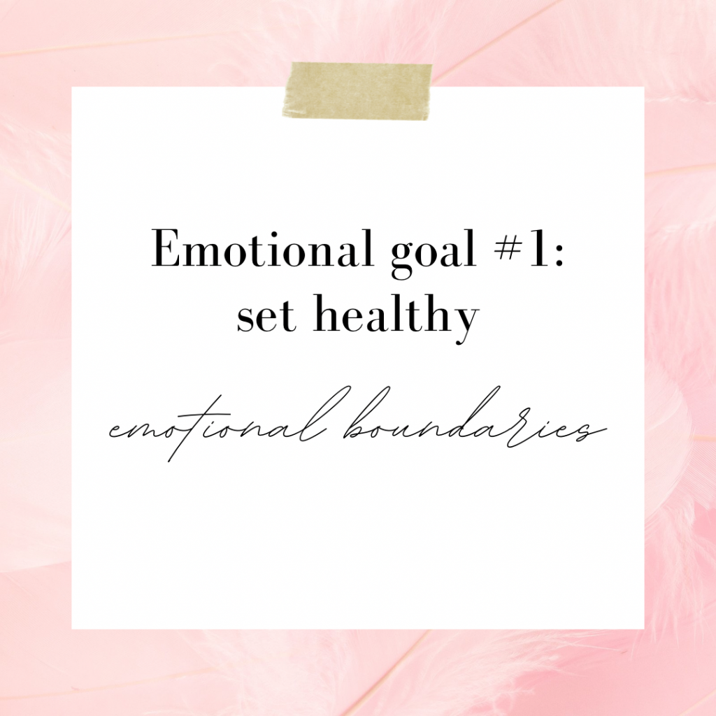 Emotional Goals To Set in Your Twenties