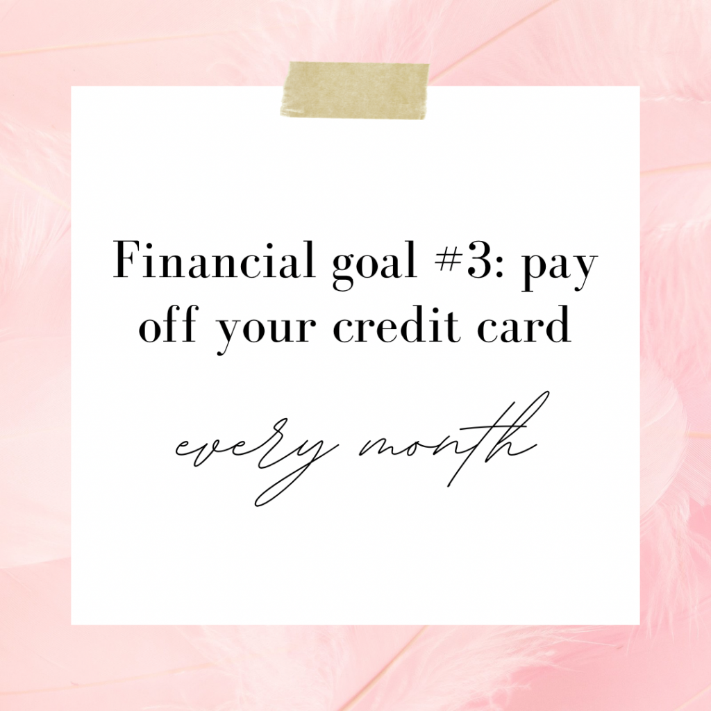 Pay Off Your Credit Card Every Month