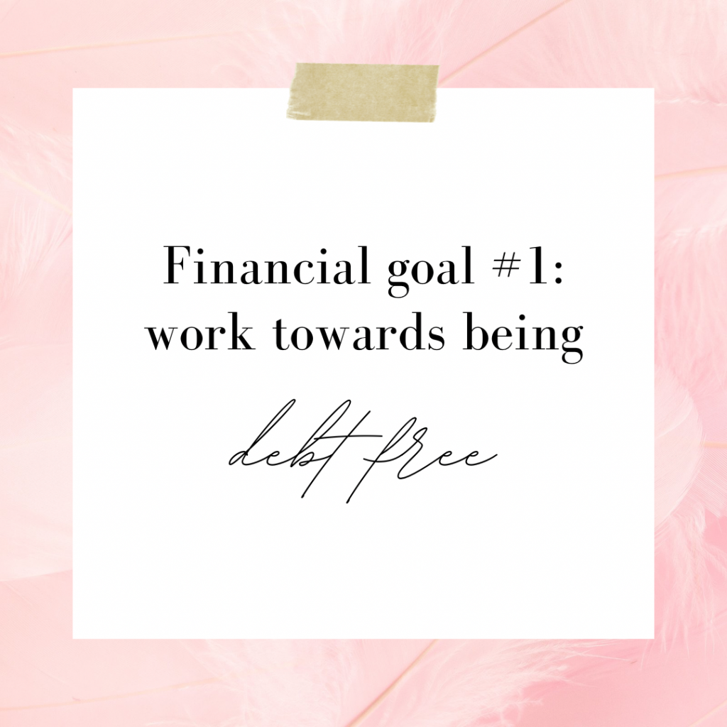 Financial goals to set in your twenties