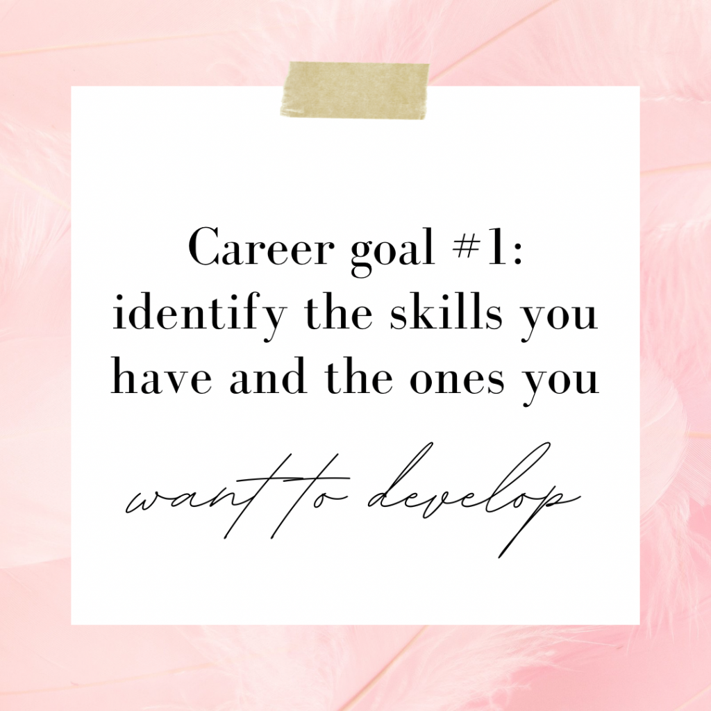 Identify Your Skills Goals In Your Twenties